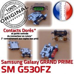 SM-G530FZ Doré Prise Qualité de souder à Connecteur Micro PRIME Samsung GRAND Charge G530FZ USB ORIGINAL charge Galaxy Chargeur SM Connector