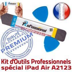 Compatible Démontage Professionnelle Ecran Outils Réparation Vitre 10.5 inch iSesamo iPad Qualité PRO KIT iLAME Tactile 2019 A2123 Remplacement