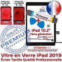 PACK 2019 A2197 A2198 A2200 N KIT PREMIUM Qualité iPad Bouton Vitre Precollé Adhésif Nappe Tablette HOME Verre Tactile Démontage Réparation Outil Noire