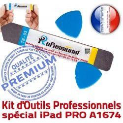 9.7 2016 KIT Qualité Ecran A1674 PRO Remplacement iPad Outils Réparation Démontage iLAME Tactile Compatible Vitre iSesamo Professionnelle