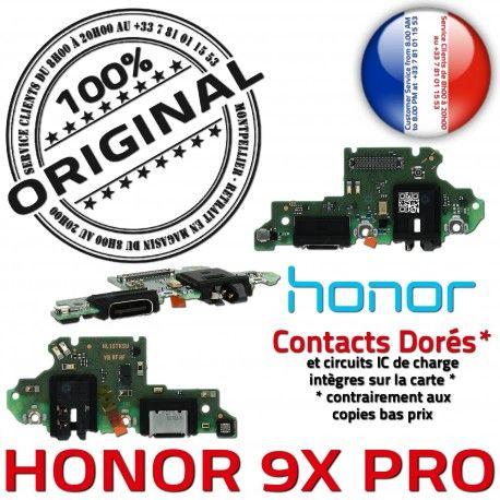 Honor 9X PRO Antenne SMA Nappe Connecteur Microphone Huawei Charge C Prise ORIGINAL Téléphone OFFICIELLE Qualité Chargeur USB