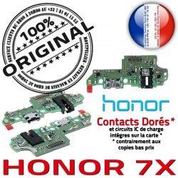 Qualité USB 7X Charge Audio PORT OFFICIELLE écouteurs Nappe Téléphone Microphone Chargeur Câble DOCK JACK ORIGINAL Honor Antenne