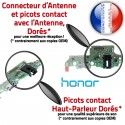 Honor 7X JACK PORT Branchement C ORIGINAL Charge Câble Microphone Qualité OFFICIELLE Micro Nappe USB Téléphone Antenne Chargeur