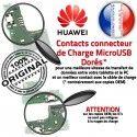 Huawei Y6 2019 Microphone ORIGINAL USB Chargeur Qualité OFFICIELLE Antenne Téléphone Nappe Micro RESEAU Prise Charge Connecteur