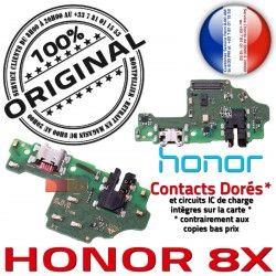RESEAU 8X Nappe Antenne OFFICIELLE de JACK Honor Connecteur Micro ORIGINAL USB Chargeur Microphone Câble Charge Prise Qualité