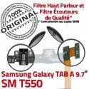 SM-T550 TAB A Micro USB Charge MicroUSB Nappe Réparation Chargeur Samsung Qualité ORIGINAL Contact Doré T550 Connecteur SM OFFICIELLE Galaxy de