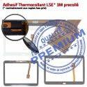 Samsung Galaxy SM-T531 Tab4 B Verre Qualité 10.1 TAB4 LCD Blanche Assemblée Supérieure Tactile Vitre Prémonté PREMIUM Ecran en Adhésif