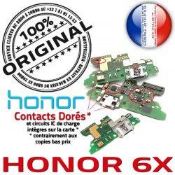 Microphone Honor Antenne Prise ORIGINAL Téléphone Nappe OFFICIELLE RESEAU Chargeur Huawei 6X USB Qualité PORT Connecteur Charge