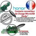 Honor 5X PORT OFFICIELLE Microphone Câble Chargeur JACK Micro Antenne Téléphone ORIGINAL Nappe Qualité RESEAU USB Charge Prise