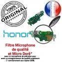 Honor 5X PORT USB Téléphone Nappe Micro JACK Antenne ORIGINAL Câble Prise Chargeur Charge RESEAU Microphone OFFICIELLE Qualité