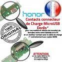 Honor 5A Qualité Câble Prise Chargeur JACK OFFICIELLE Charge ORIGINAL Micro Microphone Connecteur Nappe RESEAU de USB Antenne