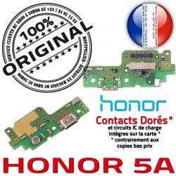 USB ORIGINAL Microphone Câble Prise Honor Antenne Micro Alimentation Nappe 5A PORT OFFICIELLE Téléphone Chargeur Qualité Charge