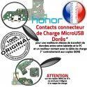 Honor 7A JACK AUDIO USB OFFICIELLE ORIGINAL Câble Micro Téléphone Chargeur Charge Nappe Antenne Microphone Qualité PORT Casque Audio