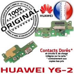 PORT Prise Huawei OFFICIELLE ORIGINAL RESEAU Téléphone Chargeur USB Y6-2 Qualité Antenne Microphone Charge Nappe Connecteur