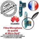 Huawei Y6 2017 Prise Alim Nappe Alimentation ORIGINAL Antenne Chargeur USB PORT Charge Micro Microphone JACK Téléphone Qualité Câble