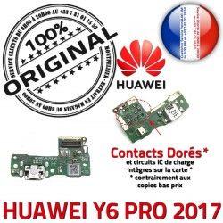 de Chargeur Charge Huawei Y6 Qualité USB ORIGINAL Antenne MicroUSB 2017 PORT JACK PRO Câble Prise Microphone RESEAU Connecteur Nappe