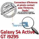 Samsung Galaxy S4 GT i9295 C Connecteur MicroUSB Microphone ORIGINAL Chargeur Charge OFFICIELLE Nappe Antenne Prise Active Qualité