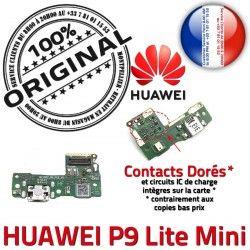 Charge ORIGINAL Connecteur Microphone Mini Lite Antenne Huawei Chargeur Nappe OFFICIELLE RESEAU Téléphone Prise Qualité USB P9