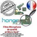 Honor 7A PRO USB Micro Prise Nappe de OFFICIELLE Câble JACK ORIGINAL Microphone MicroUSB Qualité RESEAU Charge Chargeur Connecteur Antenne