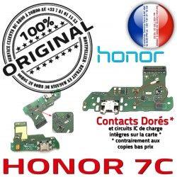 OFFICIELLE ORIGINAL Microphone Honor Qualité Chargeur Charge Connecteur Prise de RESEAU 7C Micro Antenne USB Câble JACK Nappe