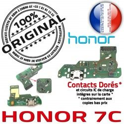 Chargeur Type-C OFFICIELLE ORIGINAL Alimentation Charge Antenne Prise Qualité Téléphone Microphone USB Honor 7C Nappe Câble PORT