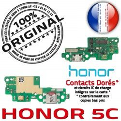 OFFICIELLE Prise Antenne PORT Branchement 5C Microphone Micro USB Honor Téléphone Chargeur Câble Qualité ORIGINAL Charge C Nappe