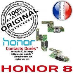OFFICIELLE de Prise Microphone Charge C Micro Câble USB Honor Antenne Qualité Connecteur 8 Type ORIGINAL Chargeur RESEAU Nappe
