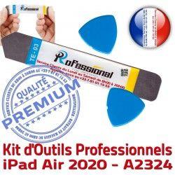 iSesamo KIT A2324 Outils 10.9 Compatible inch Qualité Ecran iLAME 2020 Professionnelle Démontage Réparation iPad Remplacement PRO Tactile Vitre