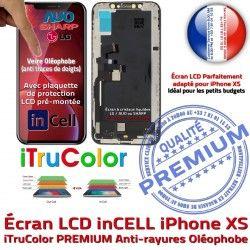 sur XS Écran Apple LCD Cristaux PREMIUM Verre HDR Remplacement SmartPhone Touch Châssis iPhone Liquides 3D inCELL Multi-Touch