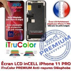 Cristaux PREMIUM Verre Touch LCD Vitre in-CELL Apple SmartPhone iTrueColor PRO Écran 11 inCELL Multi-Touch Remplacement Liquides iPhone 3D