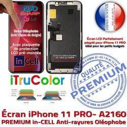 SmartPhone Liquides 3D Touch inCELL Cristaux Verre Multi-Touch iTrueColor Remplacement A2160 iPhone Apple Écran PREMIUM LCD