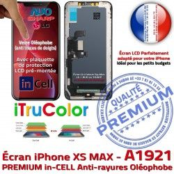 Liquides PREMIUM Touch A1921 LCD Apple SmartPhone inCELL Multi-Touch in-CELL Complet Verre iPhone XS Cristaux Châssis sur Écran MAX Remplacement