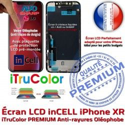 Vitre 3D Verre PREMIUM iTrueColor Liquides Multi-Touch Écran Remplacement Cristaux Apple in-CELL Changer XR iPhone LCD inCELL Touch SmartPhone