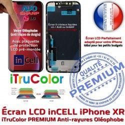 LCD Super Liquides Apple iPhone XR pouces 6,1 Cristaux Vitre Affichage True Retina inCELL Tone Écran PREMIUM SmartPhone