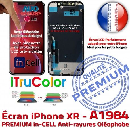 Apple in-CELL LCD iPhone A1984 inCELL Oléophobe PREMIUM Écran SmartPhone LG True Tactile Affichage Multi-Touch Tone HDR iTrueColor Verre
