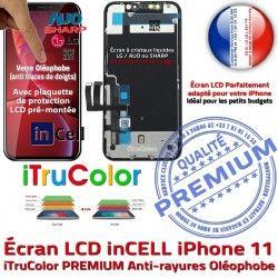 Apple Liquides Retina SmartPhone iTrueColor iPhone Touch HD 6,1 inch Cristaux inCELL PREMIUM Super 11 Vitre LCD Réparation Écran 3D