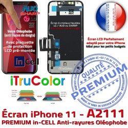 inCELL Complet Écran 6,1 A2111 in SmartPhone Phone Cristaux PREMIUM True Affichage Vitre Apple Tone Liquides 11 Tactile Retina Assemblée iPhone