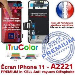 Liquides Super Affichage PREMIUM inCELL A2221 6,1in Assemblé 11 LCD Vitre SmartPhone Tone Écran Cristaux Retina Complet True iPhone Apple