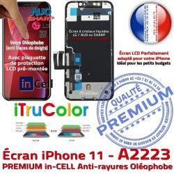 LCD PREMIUM 3D in Apple 6,1 Écran Vitre InCELL iPhone A2223 SmartPhone Ecran Oléophobe Touch Cristaux HDR Remplacement Liquides Super inCELL Retina