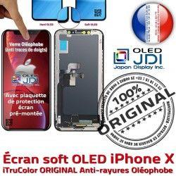 Super ORIGINAL Affichage Verre soft Complet Qualité X Retina iPhone HDR Écran HD OLED Réparation Tone 5,8 Tactile in True SmartPhone