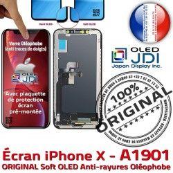 OLED Tactile SmartPhone 3D Qualité Verre in Touch Super ORIGINAL HD Réparation 5.8 A1901 iPhone iTrueColor Écran Retina X soft