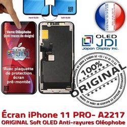 11 Vitre Châssis ORIGINAL Tactile KIT Retina soft Apple in Complet sur Écran A2217 Assemblé PRO iPhone OLED 5,8 SmartPhone Verre