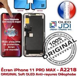 A2218 sur Assemblé Retina 11 PRO soft OLED pouces iPhone ORIGINAL Apple Tone True Vitre 5,8 Super MAX Écran Châssis SmartPhone