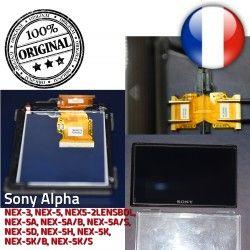 Sony 3″ LCD NEX-5 ORIGINAL Remplacement 7,5 Replacement cristaux Écran liquides Part cm Display Alpha 412AKM1 Repair -