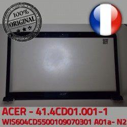 ORIGINAL Mitsubishi 41.4CD01.001-1 WIS LCD ACER Acer ASPIRE Screen PC WIS604CD5500109070301 Contour Frame Front Cover Ecran Bezel