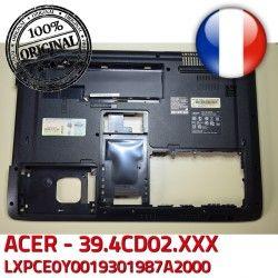 LXPCE0Y0019301987A2000 ORIGINAL Coque Arrière Case Bezel ASPIRE Frame Back Acer Bottom ACER 39.4CD02.XXX WIS604CD1000209070801 Cover