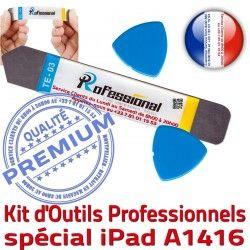 iLAME Démontage Professionnelle iPad A1416 Tactile Compatible Ecran Qualité Remplacement PRO Vitre Outils KIT Réparation iSesamo