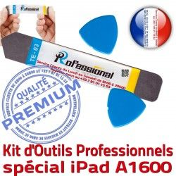 Compatible 3 Tactile KIT Outils iSesamo A1600 Ecran PRO Remplacement iLAME iPad Réparation Qualité Professionnelle Vitre iPadMini Démontage