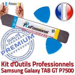 GT Outils iLAME Compatible Remplacement Professionnelle Tactile P7500 KIT Ecran Réparation Galaxy Démontage Samsung TAB iSesamo Qualité Vitre