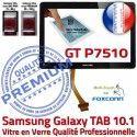 Samsung Galaxy TAB GT-P7510 10 N Noire Ecran Prémonté Qualité Vitre Assemblée Tactile GT 10.1 Supérieure en P7510 PREMIUM Verre Adhésif LCD